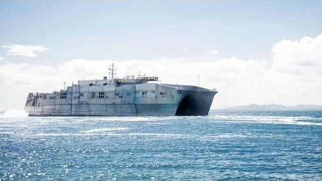 The Keel of the USNS Brunswick Laid (HL04)