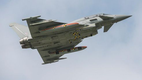 Further Meteor firing trials begin for Typhoon