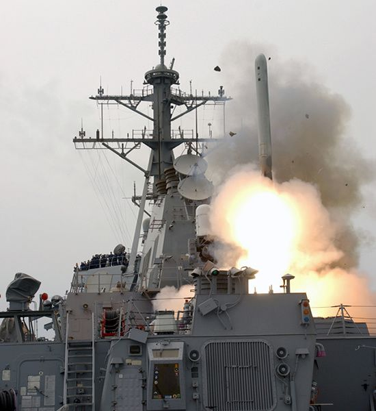 Raytheon awarded $26 million US Navy contract for Tomahawk launching system