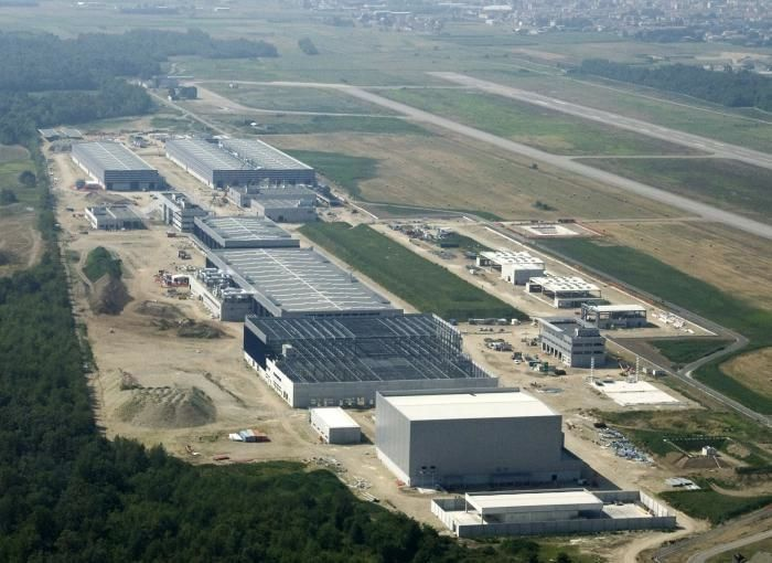 Cameri Air Base, Italy and F-35 facilities. Photo Lockheed Martin