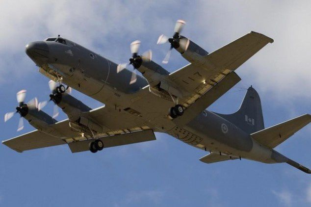 RCAF CP-140 Aurora involved in search for suspected Russian submarine