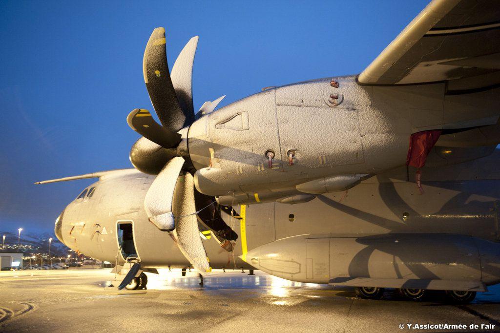 Rendez-vous en terre glacée pour l'A400M Atlas