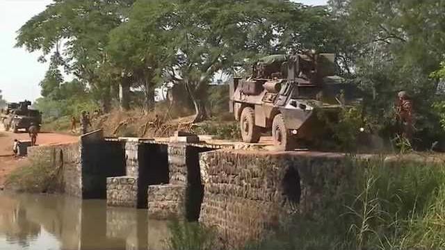Sangaris : sécurisation d'un convoi entre Bangui et N'Délé (màj)