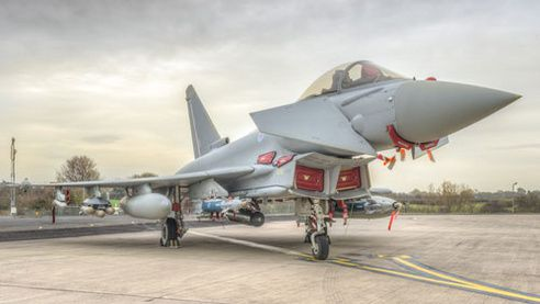 Brimstone on Typhoon - photo BAE Systems
