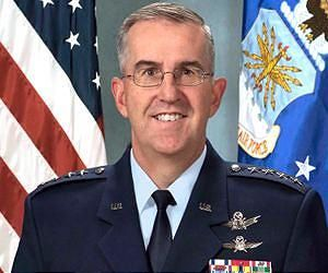 Gen. John E. Hyten, the Air Force Space Command  (AFSPC) commander.