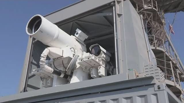 Laser Weapon System Successfully Deployed Aboard USS Ponce