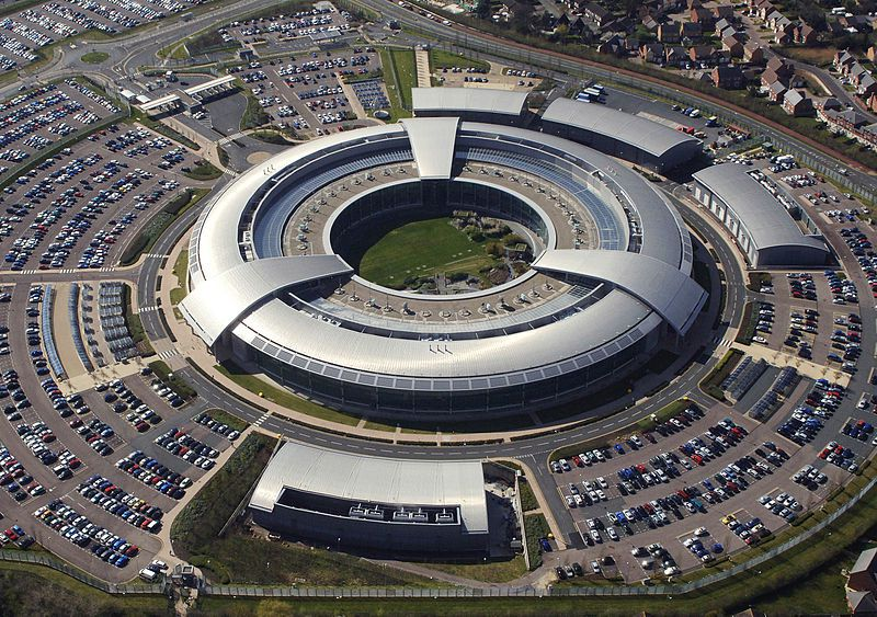 Government Communications Headquarters (GCHQ) in Cheltenham, Gloucestershire - photo UK MoD