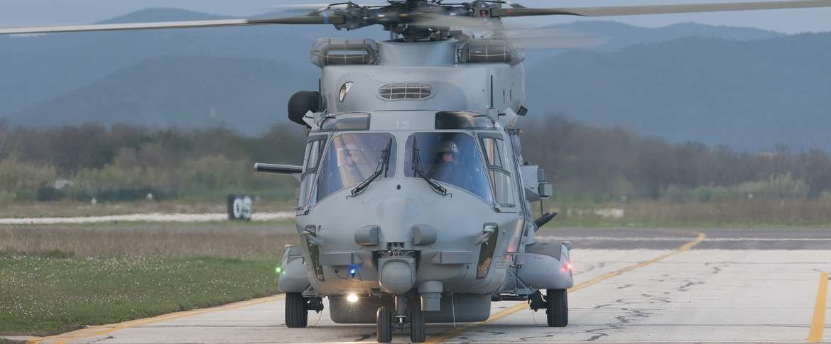 Réception du NH90 n°13 par le CEPA/10S