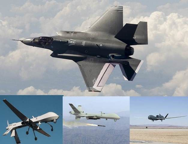 Pawlikowski On Air Force Offset Strategy: F-35s Flying Drone Fleets