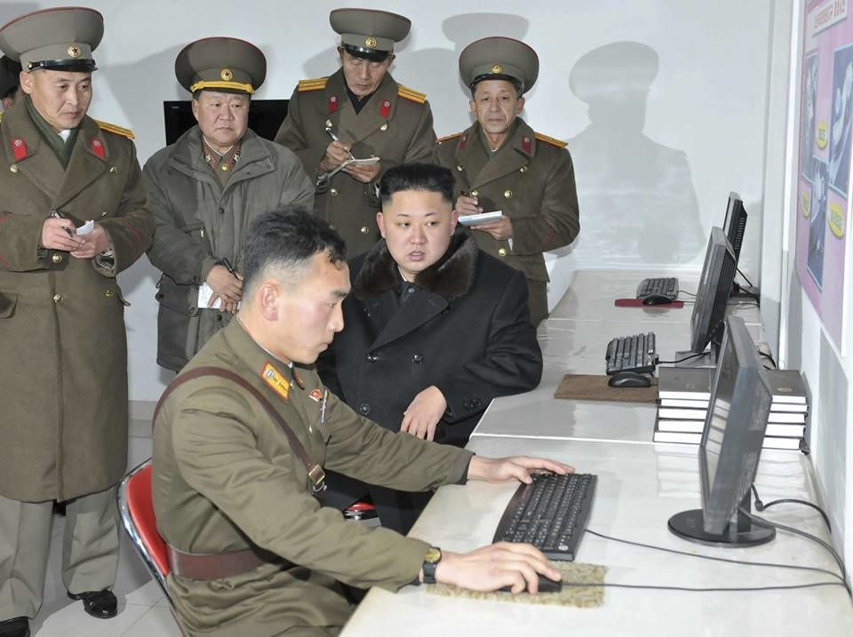 North Korea - cyberdefense source Reddit