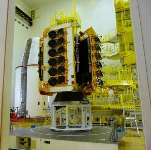 Third batch of four O3b satellites successfully launched