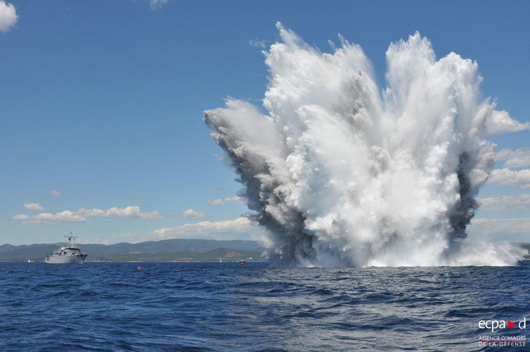 La marine nationale et la lutte contre les mines