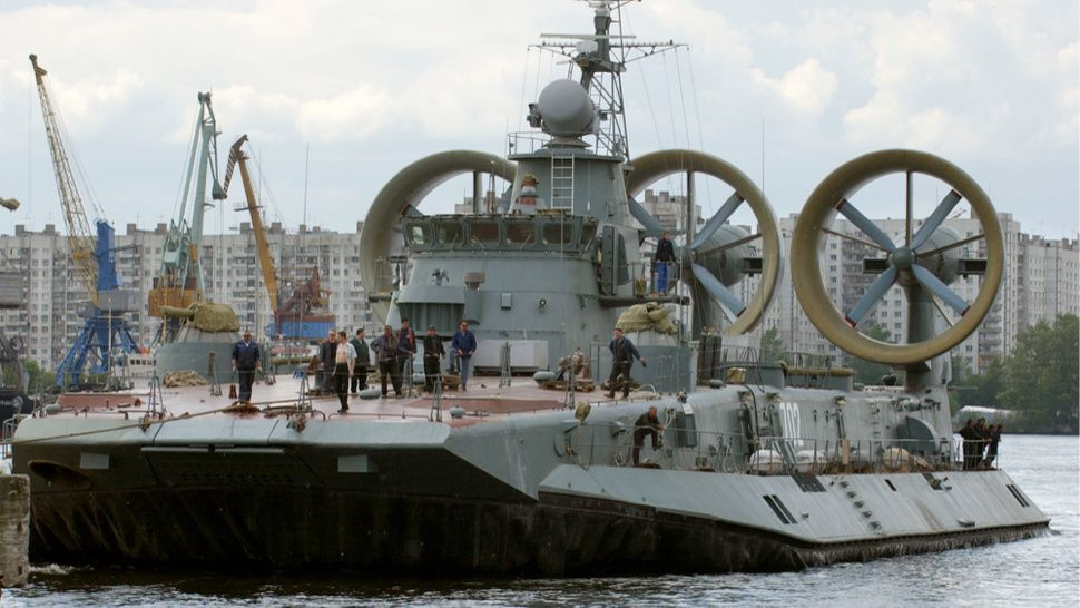 Greece Just Sold Its Giant Zubr-Class Hovercraft To China