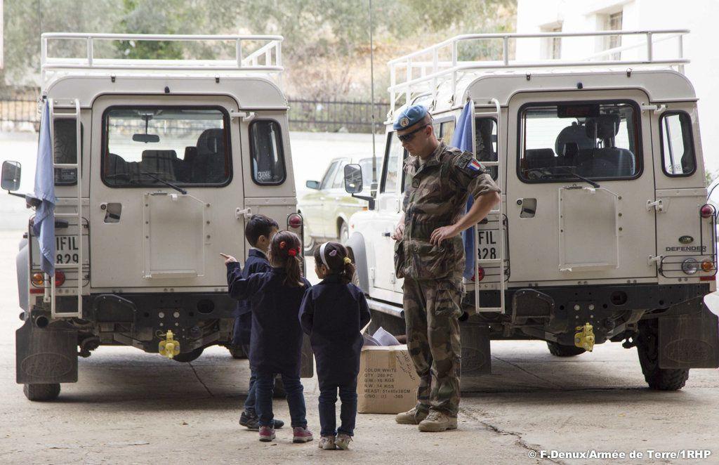 Rencontre avec le sergent Loïc, en mission au Liban pour des actions de coopération civilo-militaire
