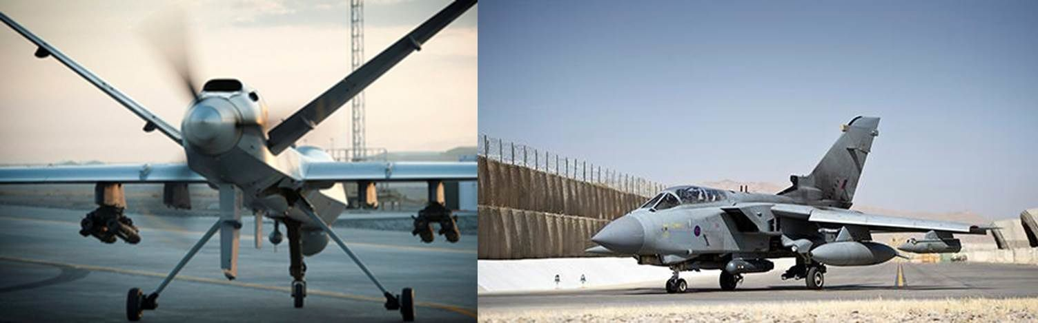 RAF Reaper and Tornados have provided further air support to the Iraqi military against ISIL in Iraq