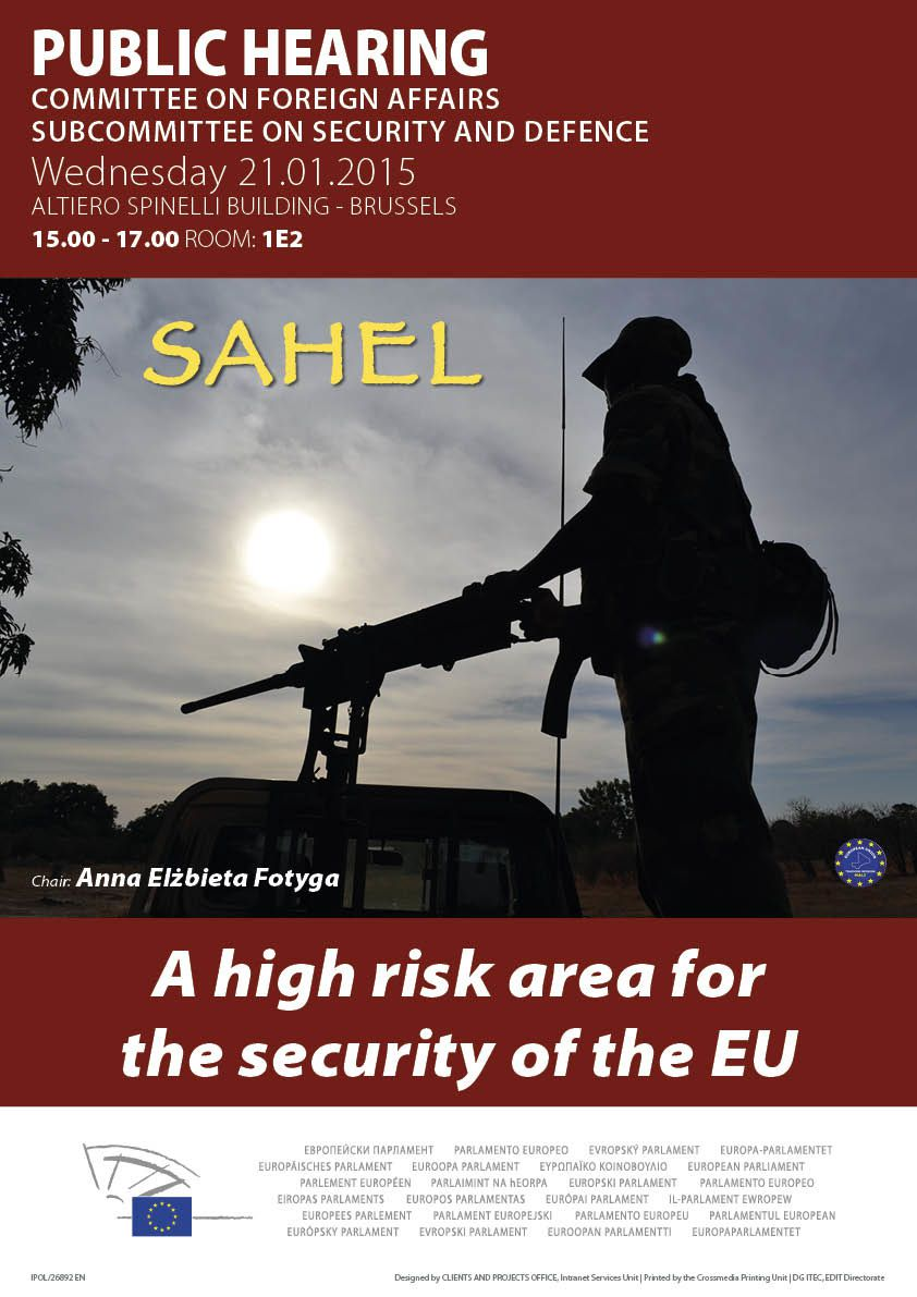 Public Hearing on the Sahel region - SEDE