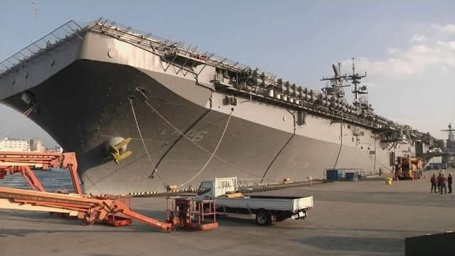 USS Bonhomme Richard Sailors Return to Sea