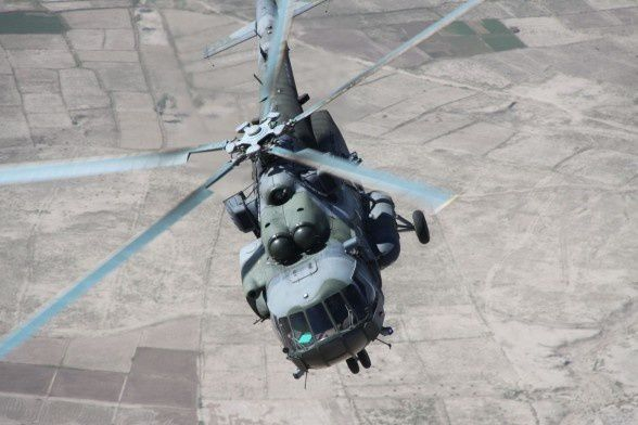 Mi-171E transport helicopter - photo Rostec