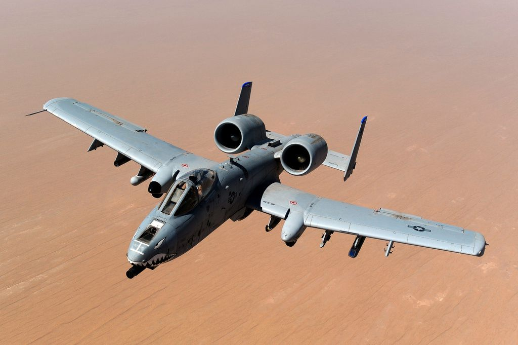 U.S. A-10 reportedly shot at by ISIS militants with Strela MANPADS in Iraq