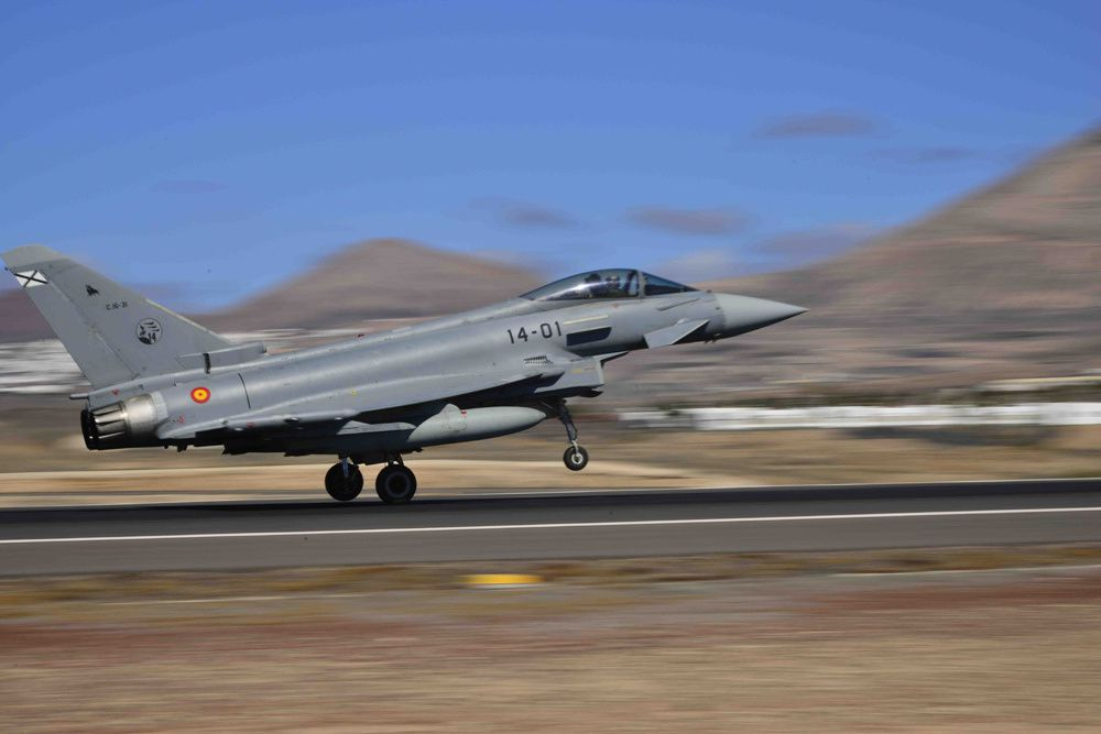 Eurofighter Typhoon espagnol, ou C.16 - Photo Ejercito del Aire