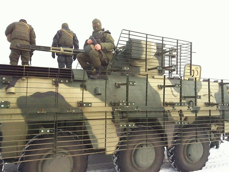 BTR-4 received slight modernization