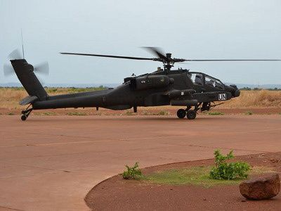 Dutch Apaches strike Mali rebels