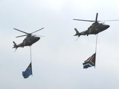 South African Air Force Day parade