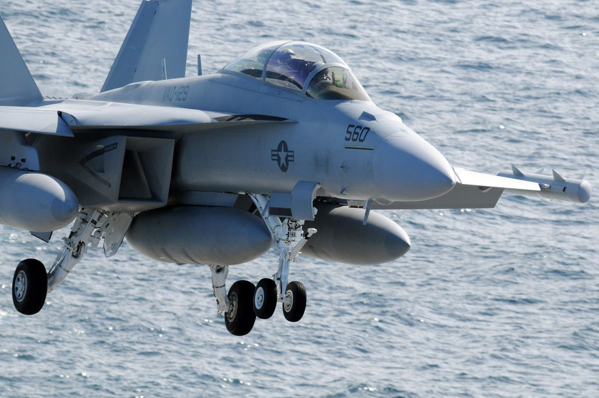 EA-18G Growler photo US Navy