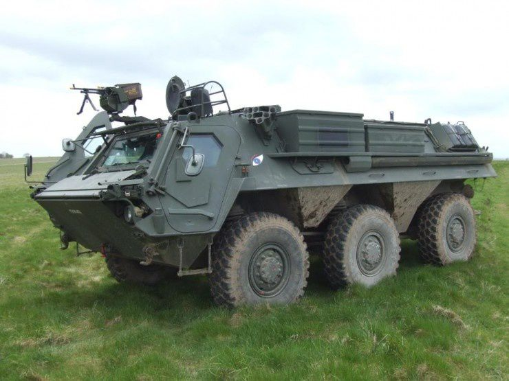 Fuchs NBC Reconnaissance vehicle (Image Credit – Plain Military)