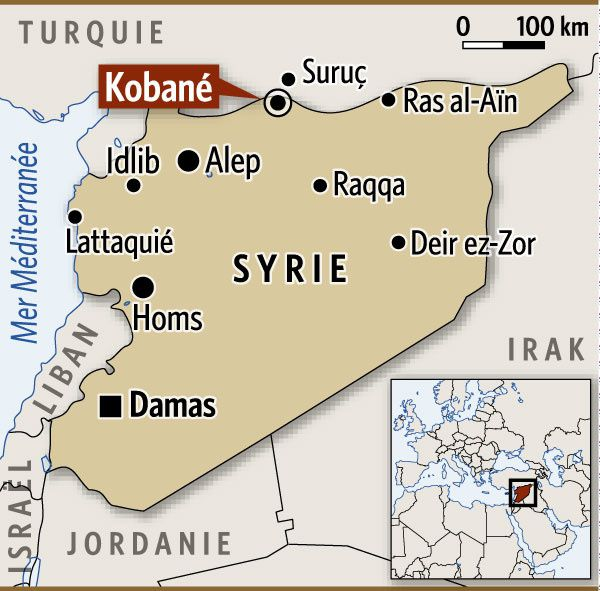 Après Kobané, les Kurdes veulent chasser l'EI des villages voisins
