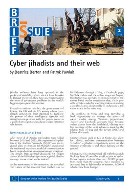 Cyber jihadists and their web