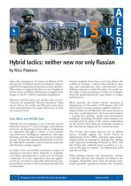 Hybrid tactics: neither new nor only Russian