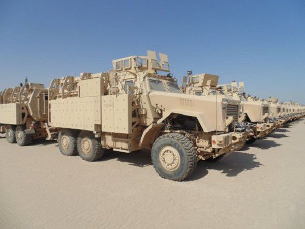 Security Assistance Enterprise Delivers Vehicles to Iraq