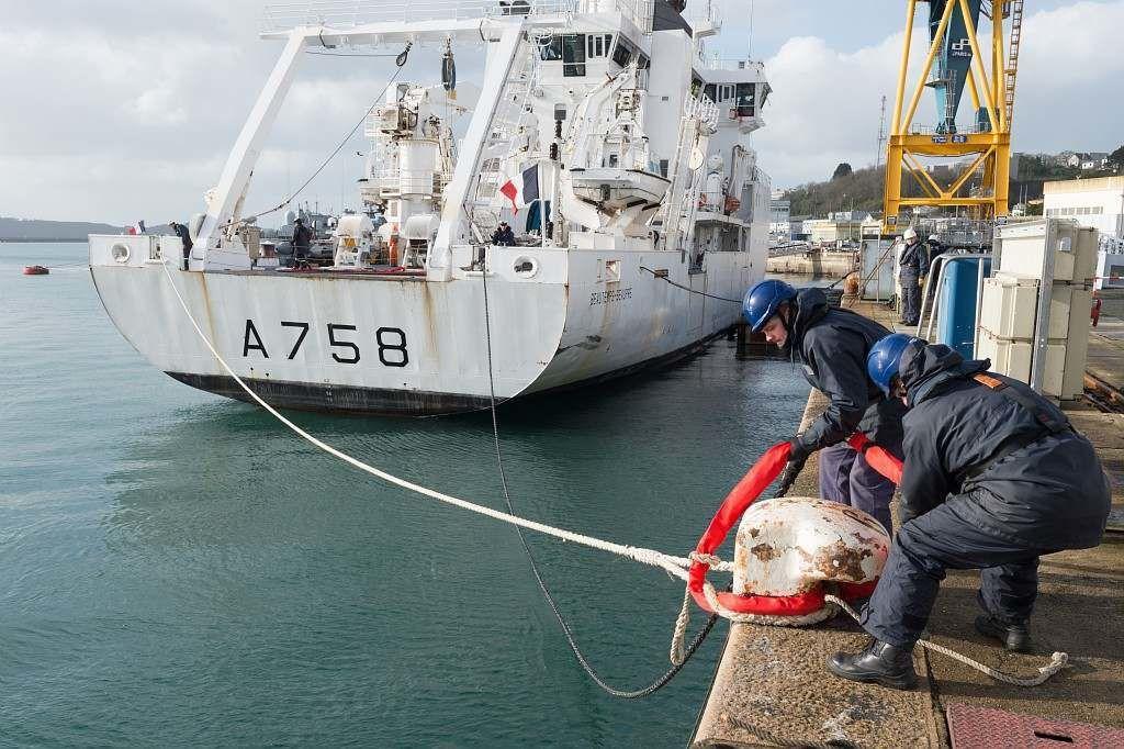 Le BHO Beautemps-Beaupré quitte Brest pour une nouvelle expédition de 8 mois