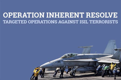 Military Airstrikes Hit ISIL in Syria and Iraq