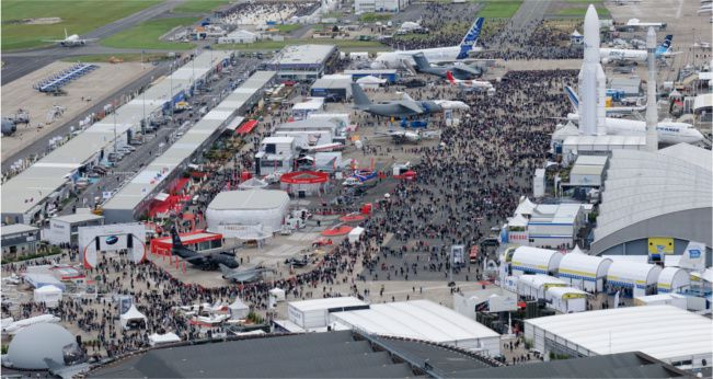 Le bourget rp defense for Salon aeronautique