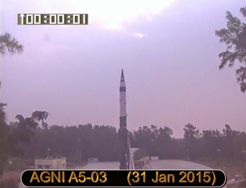 Milestone Launch: Agni V Missile Tested From Canister