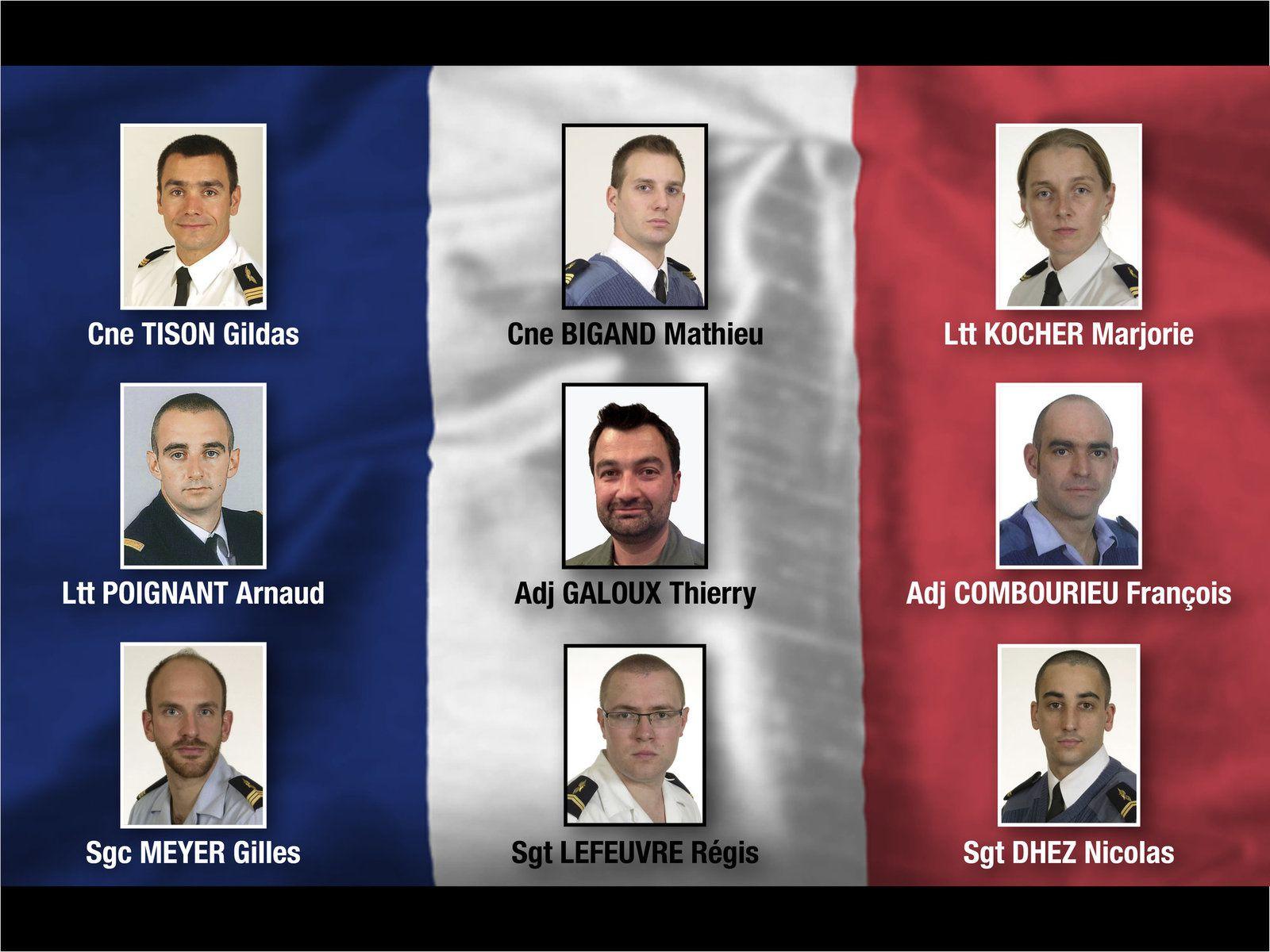 Hommage national aux victimes de l'accident aérien d'Albacete