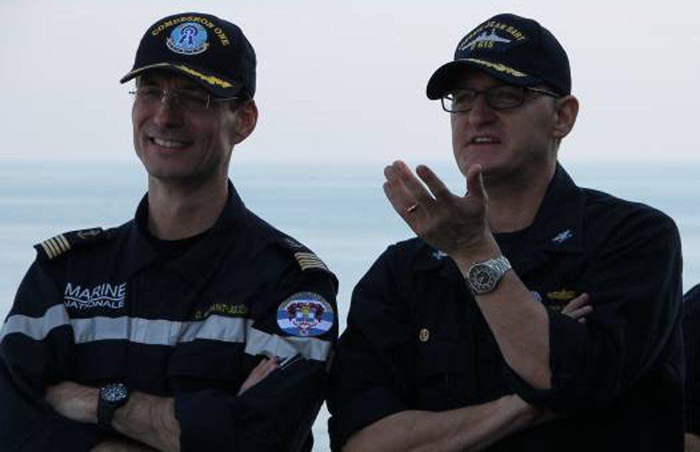 Chammal : l'US Navy remercie la FAA Jean Bart