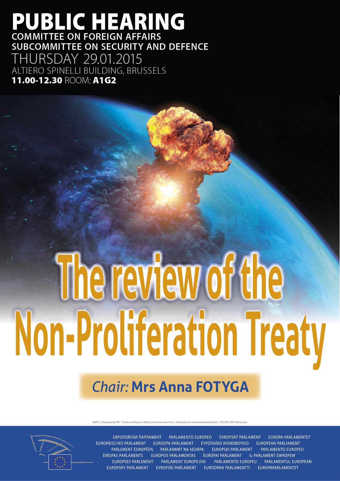 The review of the Non-Proliferation Treaty