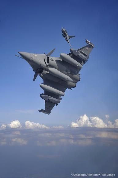 Rafale photo K. Tokunage - Dassault Aviation