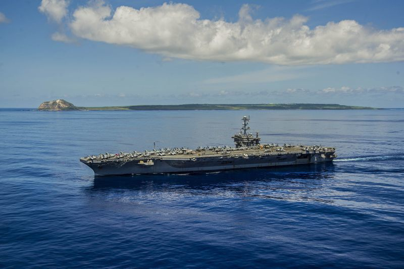 USS George Washington (CVN 73) Photo US Navy.