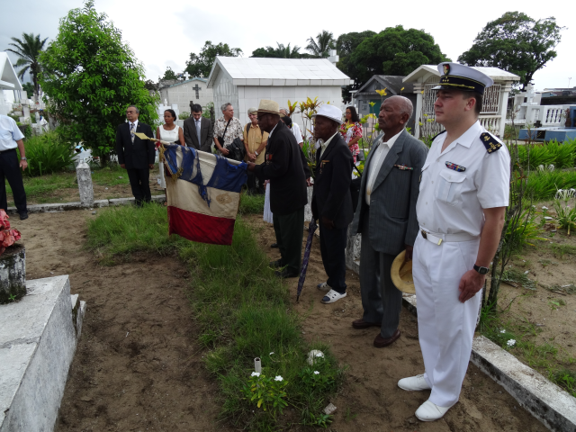 FAZSOI : Hommage aux anciens combattants à Toamasina