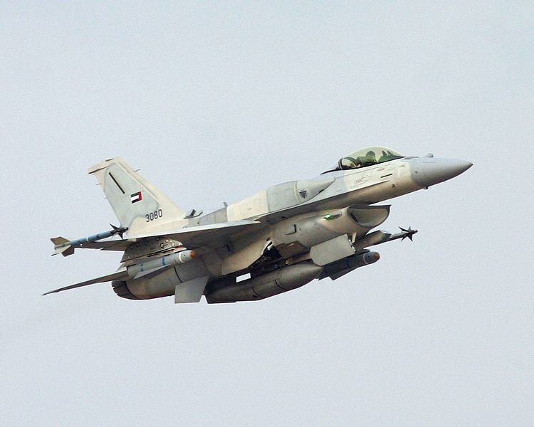 UAE F-16 Block 60 aircraft - Photo David Raykovitz