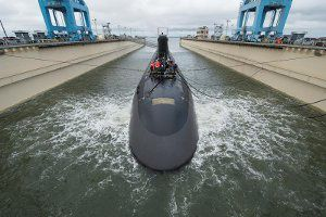 Construction continues on US Navy's John Warner submarine