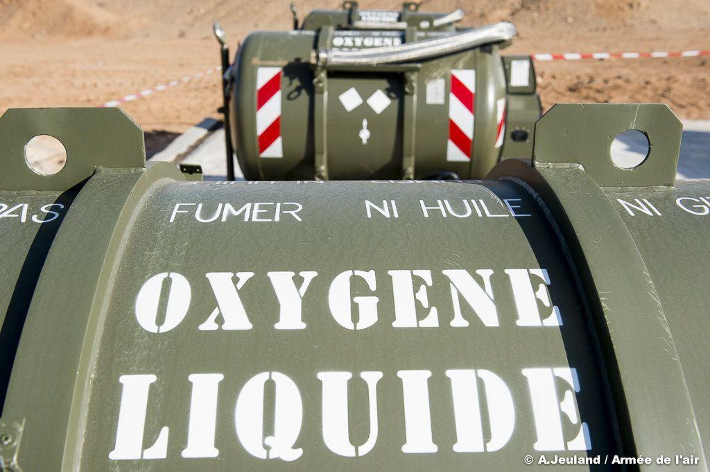 Les ressources en oxygène de l'opération Chammal en Jordanie