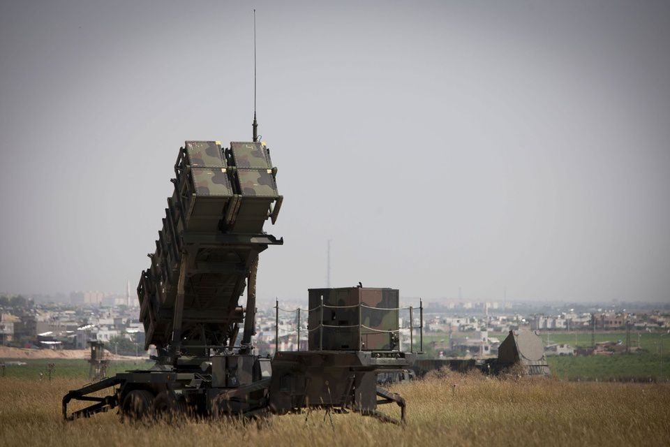 A Dutch Patriot system in Adana, Turkey - photo Defensie-NL