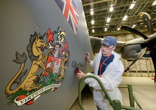 "UK's First A400M Aircraft Named ""City of Bristol"""