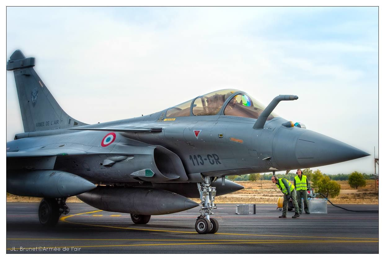 Rafale Photo  JL. Brunet Armée de l'air