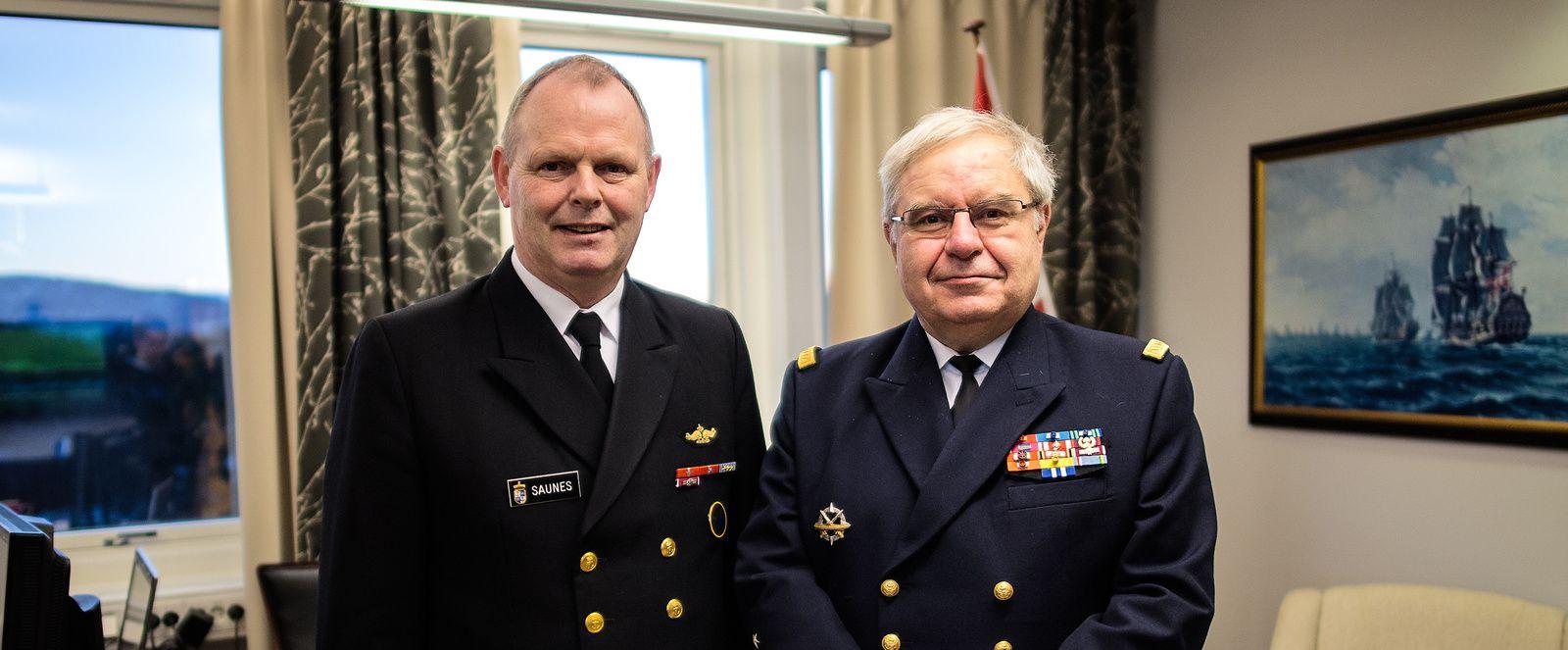 Déplacement du chef d'état-major de la Marine en Norvège